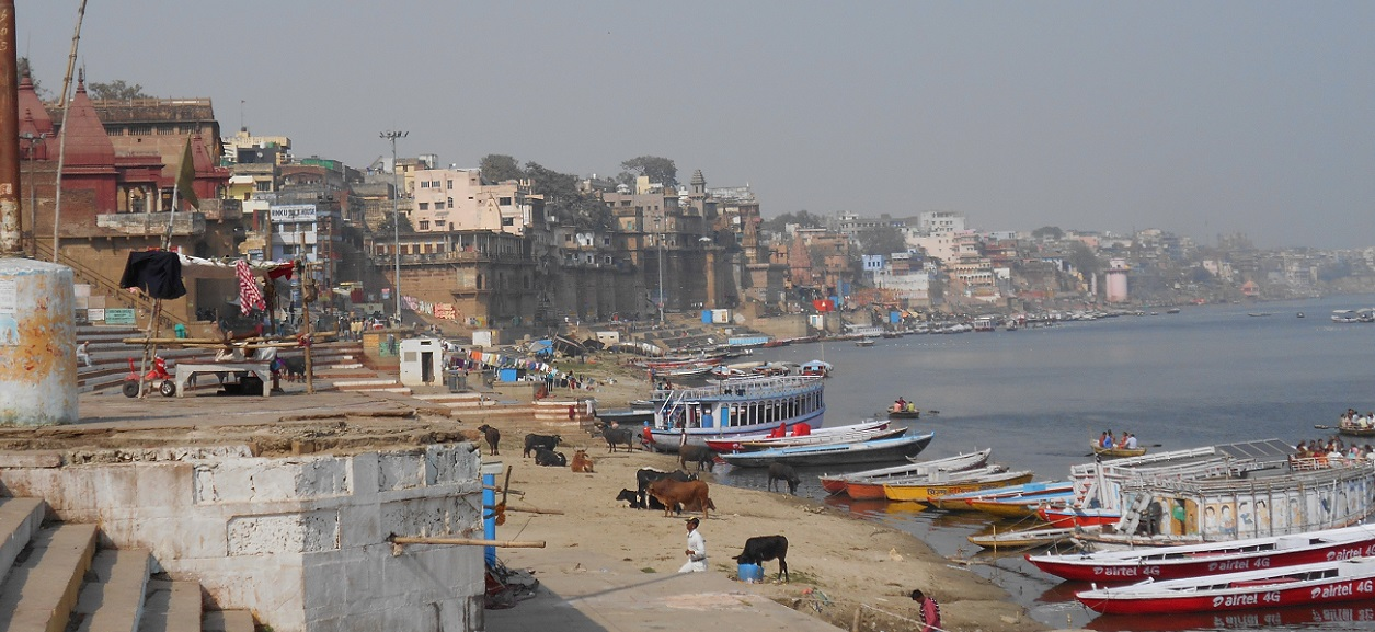My favorites: Varanasi where I meet Ganga river