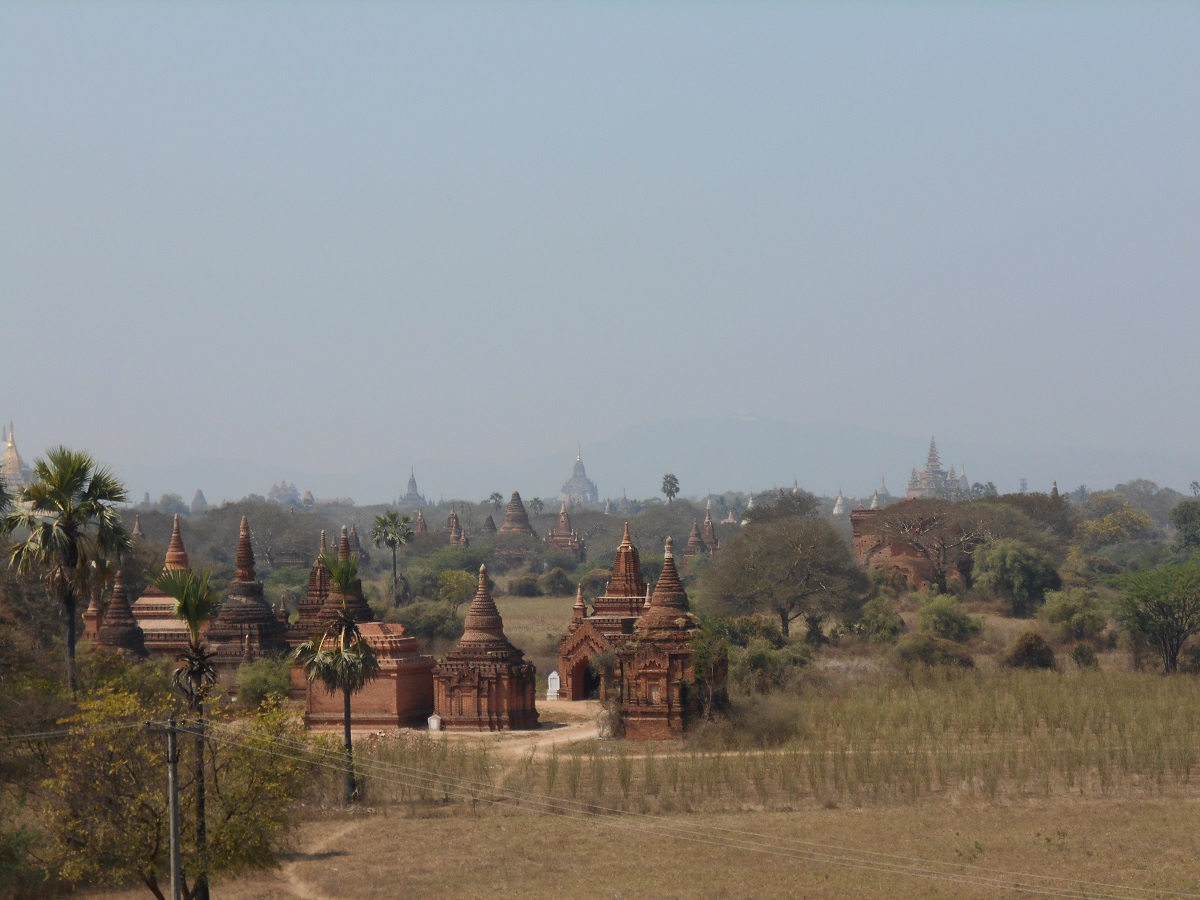 First bus ride in Myanmar: from Mandalay to Bagan