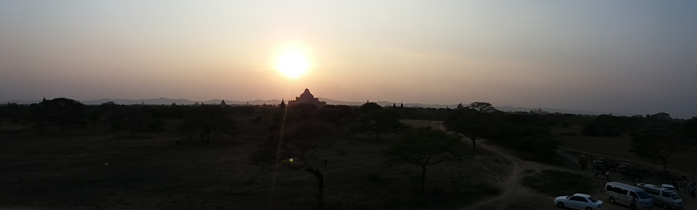 If you are visiting Bagan temples in 2018, be aware that you can't climb them anymore. There are informative signs about it everywhere.