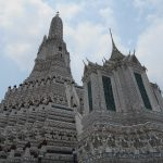 Wat Arun is one of the magnificent Bangkok temples and a must visit in the city. It is different from all the rest, with a huge detailed stupa.