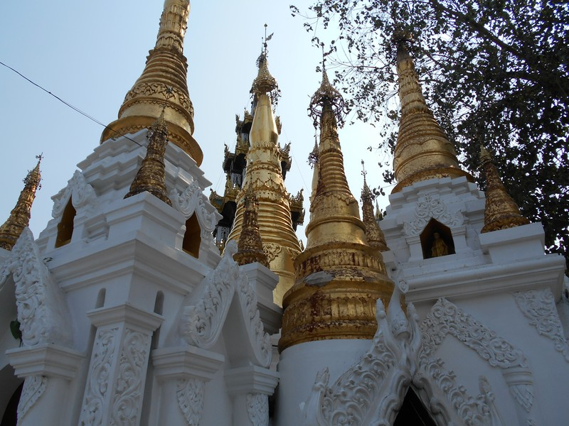 Shwedagon Pagoda is quite a walk from my hostel, but I will dedicate my day to it so I have plenty of time to walk. It was a 40 min walk.