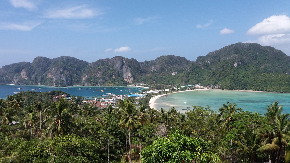 The most amazing view of Phi Phi viewpoint