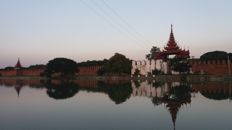 After 2 days trip to get from my hometown in Portugal to Mandalay in Myanmar, I'm already in Mandalay on my first bike trip ever.