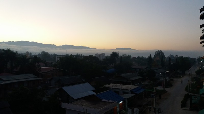 I'm taking the overnight bus from Mandalay to Nyaung Shwe (Inle Lake), and the bus departs at 10 PM and arrives Nyaung Shwe around 6 AM the next day.