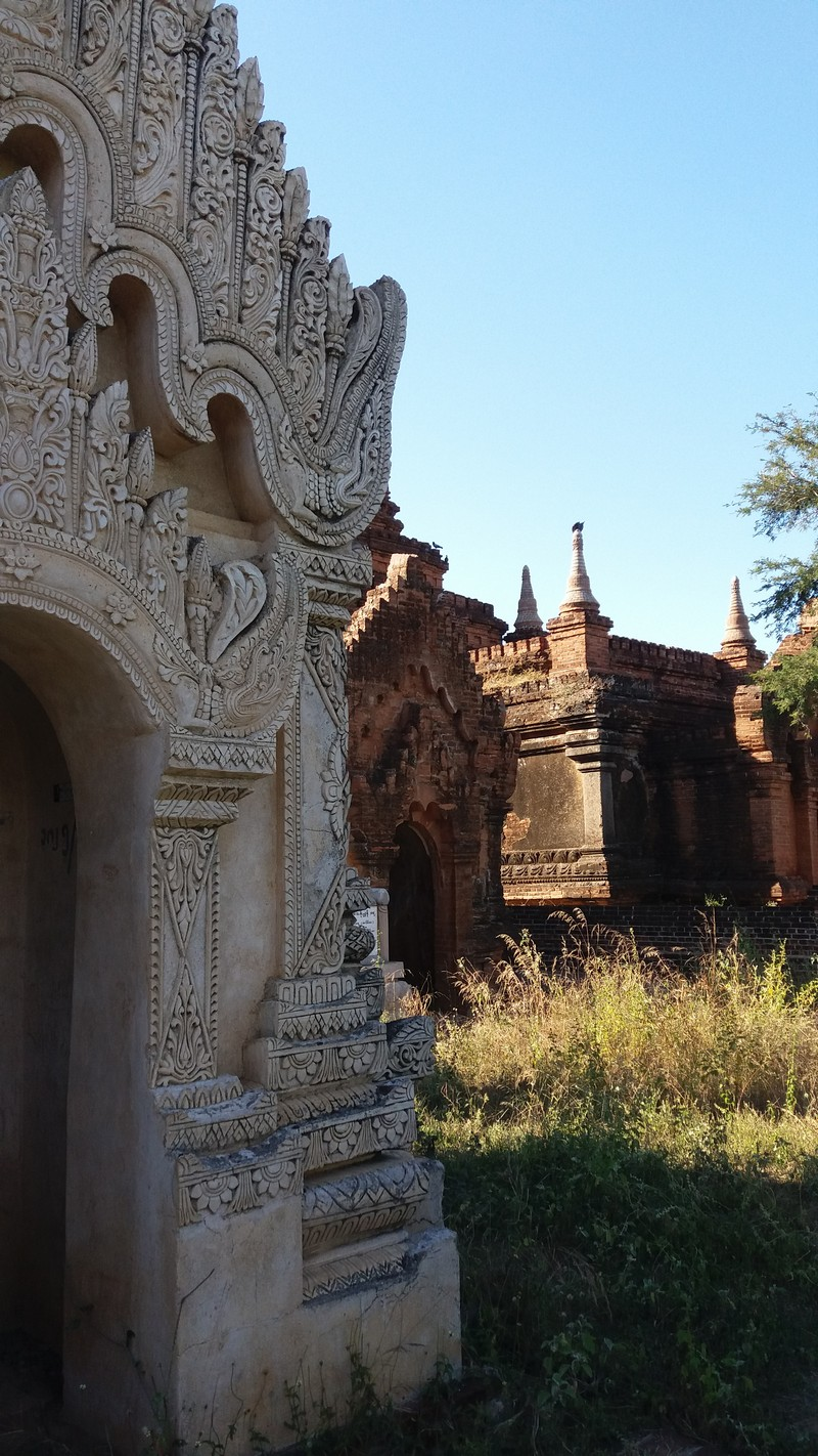 Cycling in Bagan is very easy as the way is very plain, but it is also tiring. There isn't much more to do in Bagan rather than exploring the temples