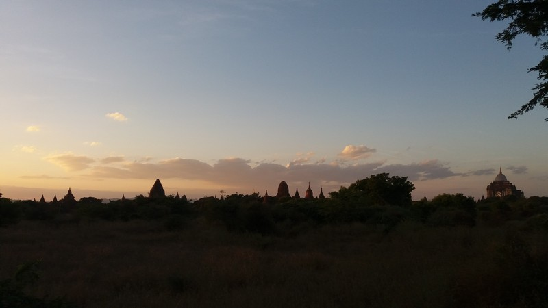 Bagan is a land full of temples worthy of magical sunrises and sunsets. The best sunrises and sunsets in the middle of Bagan temples are here.