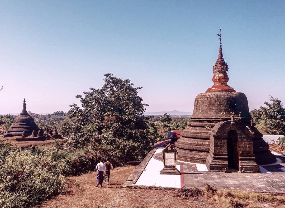 The best way to explore Mrauk-U