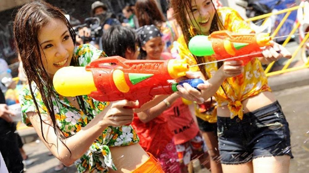 Songkran festival in Thailand: Bangkok