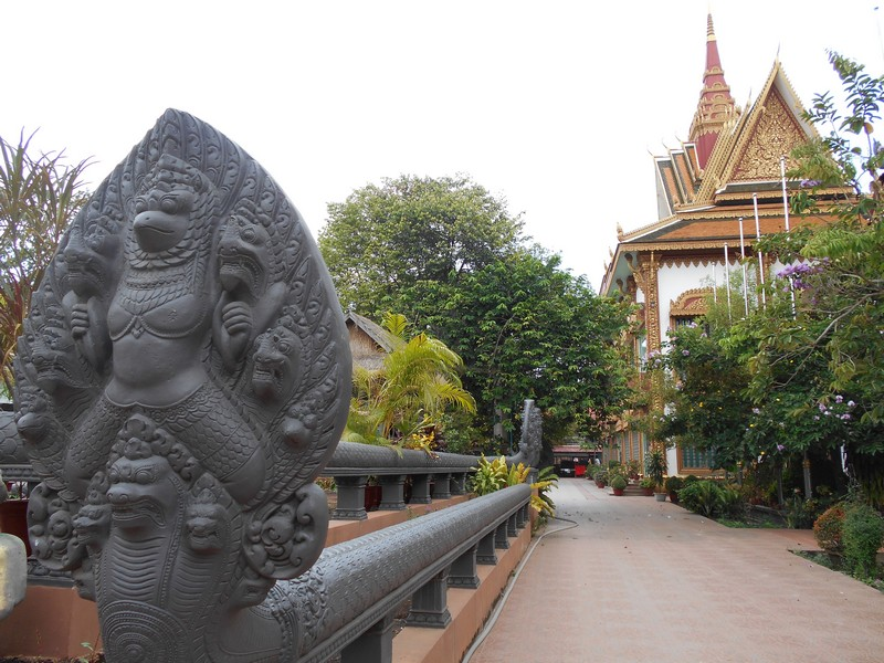 Apparently, there isn't much more to do in Siem Reap rather than seeing the Angkor Wat temples. The city is just not interesting.
