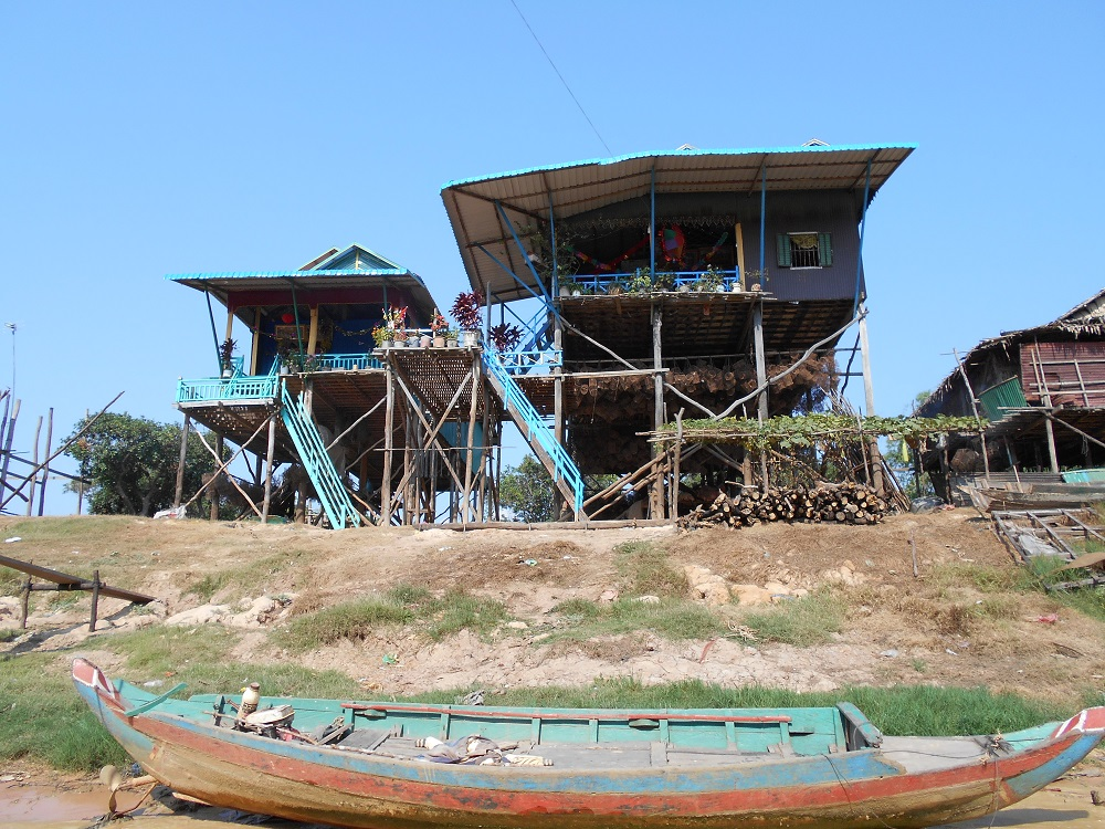 Visiting Siem Reap Floating Village- half day tour