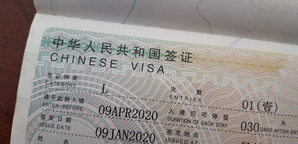 One month before the Coronavirus outbreak, I applied for a Chinese Visa in Mandalay- If only I knew… It's funny cause I found myself almost giving up on it