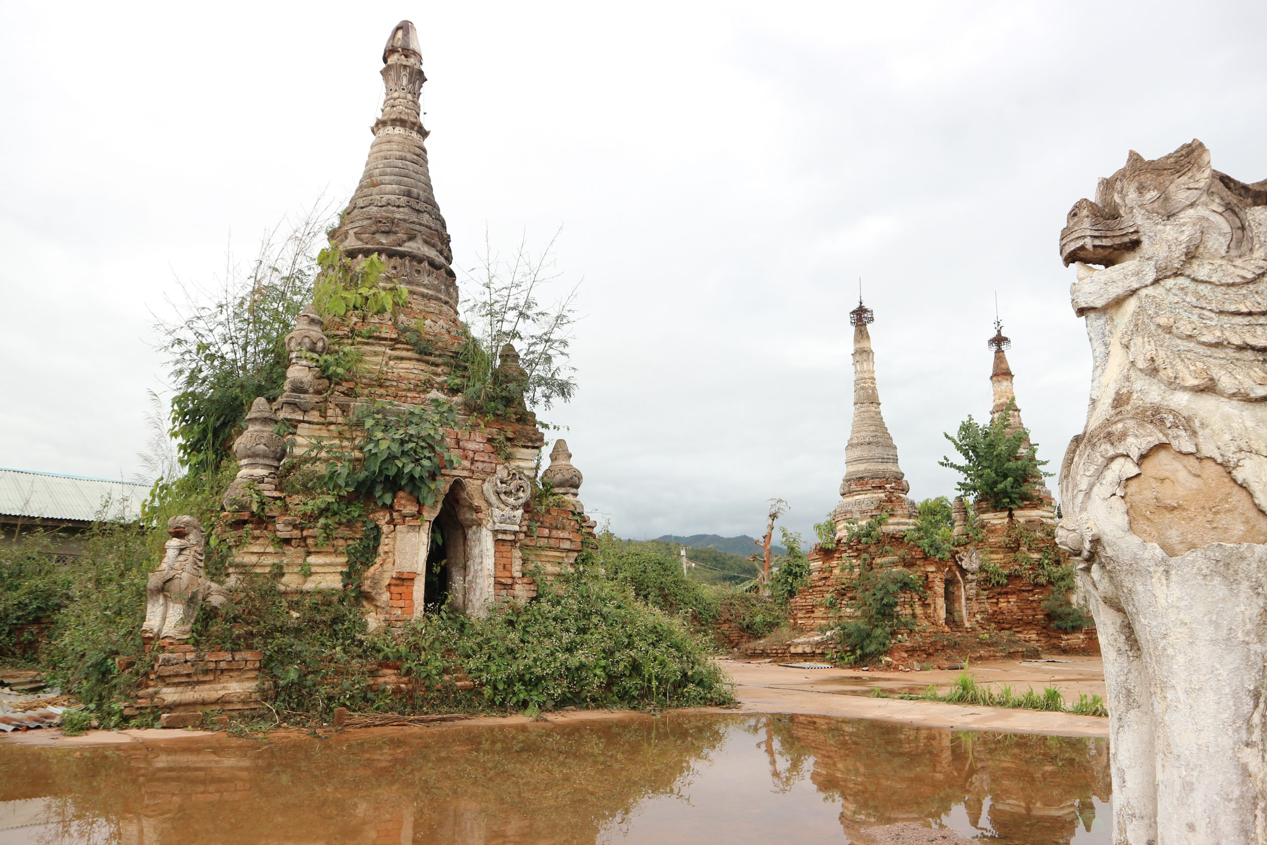 Exploring Hsipaw by bicycle