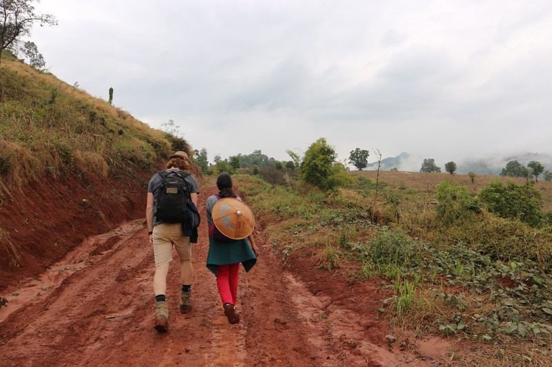 Hsipaw trekking with Mr. Charles - while you stay home