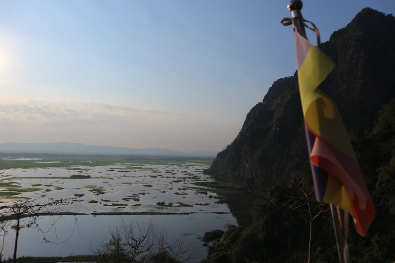 I rented a motorbike in Hpa-An for two days to explore the caves, mountains, and Hpa-An pagodas. I think it was the best option
