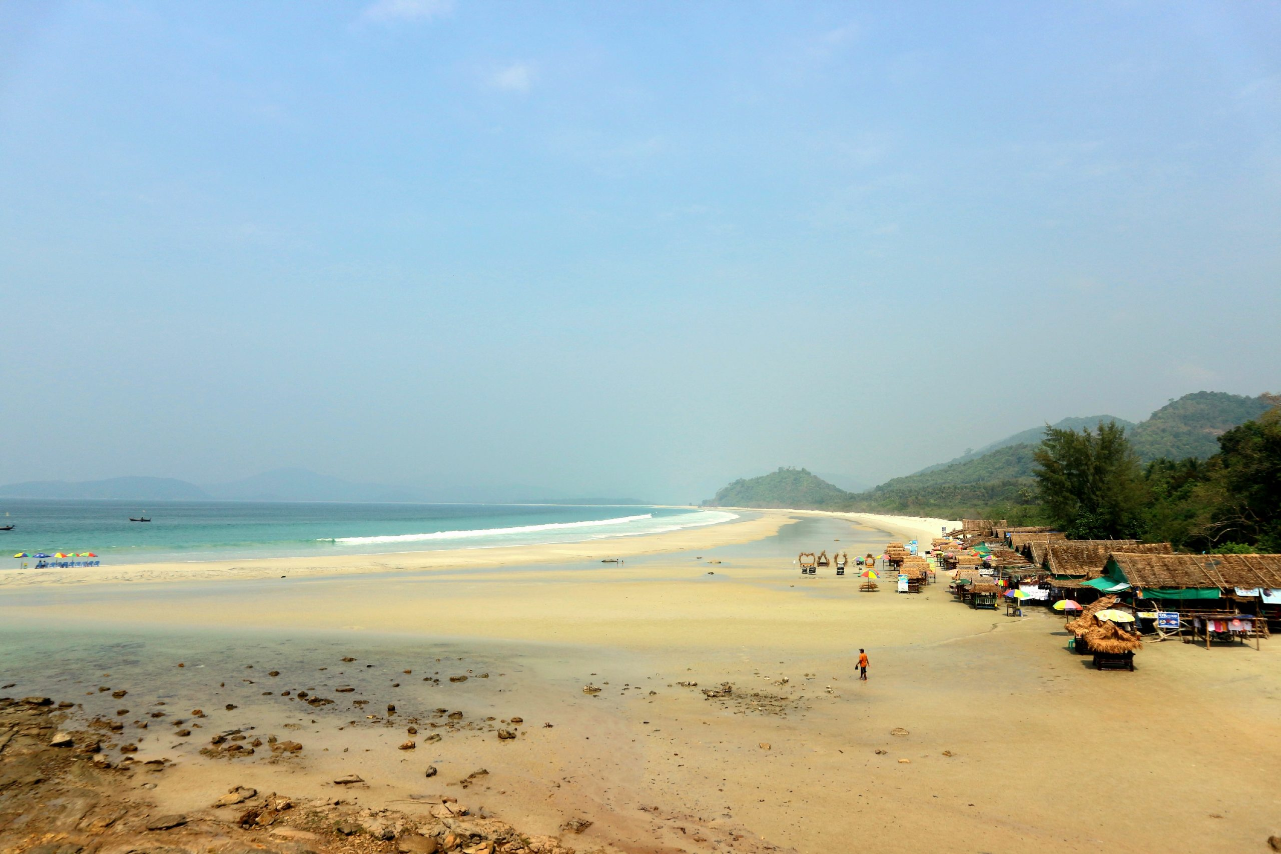 Myanmar beaches: Paradise beach, Grandfather beach and Sin Htauk