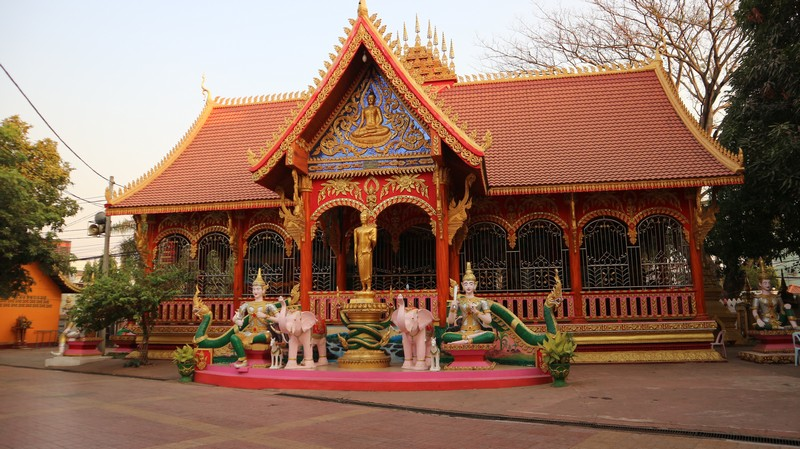 Vientiane isn't my favorite city at all but it has some charm. There are not many things to do here so spending here two days is enough.