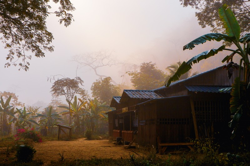 Mu Aye Pu village, where I am a volunteer, is surrounded by wonderful views of an untouched Myanmar paradise.