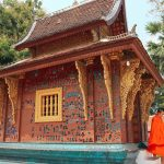 Luang Prabang is a pretty small town in Laos, but no less charming for that. It is in fact a very touristy place with many western looking restaurants