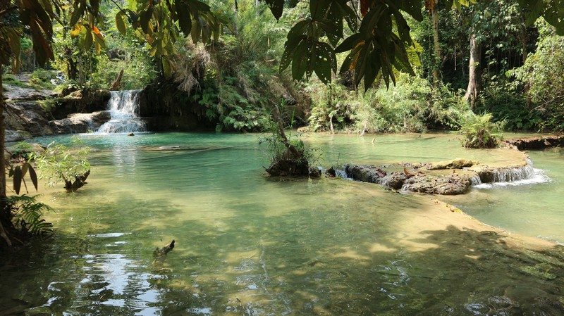 I think it is fair enough to say that Kuang Si Falls is the major attraction of Luang Prabang. In fact, I was very excited to visit them