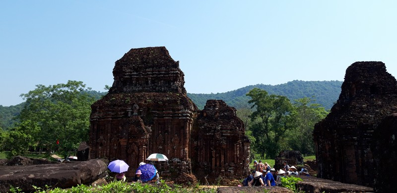 Another attraction near Hoi An that you can visit on a day tour is My Son temples.
