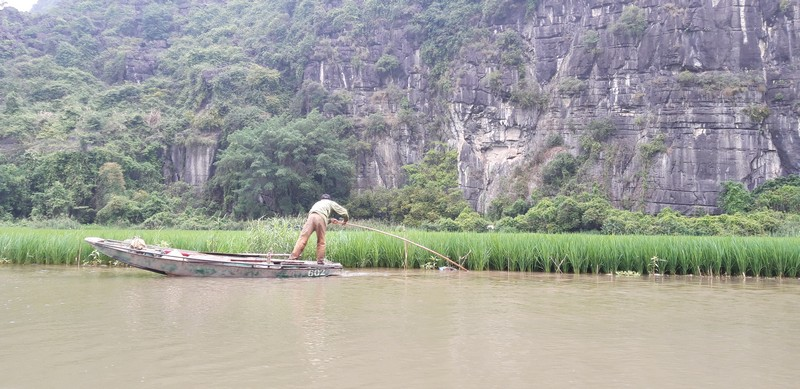 In addition to Halong Bay, my expectations were also high for Ninh Binh. The landscape resembles a movie set and is worthwhile.