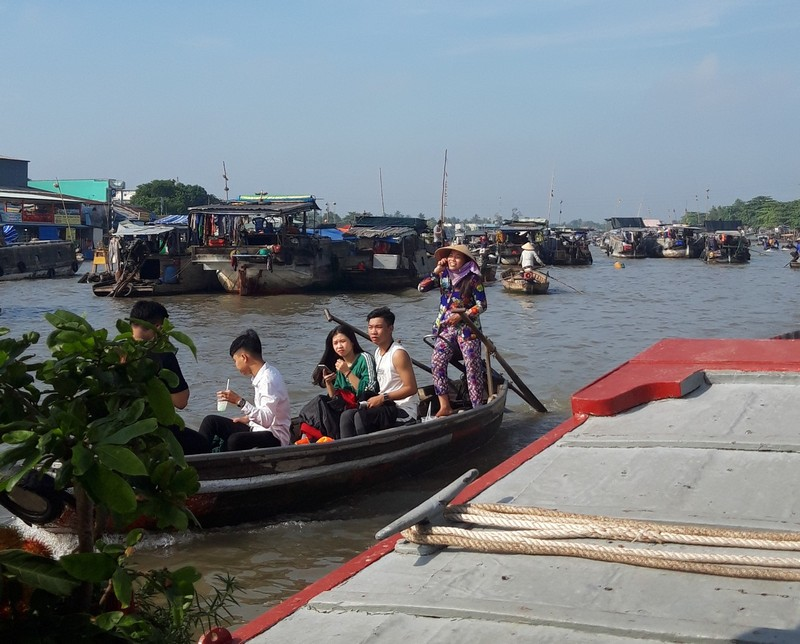 Can Tho is not a touristy place besides for the Mekong Delta floating market that is the thing attracting tourists here.