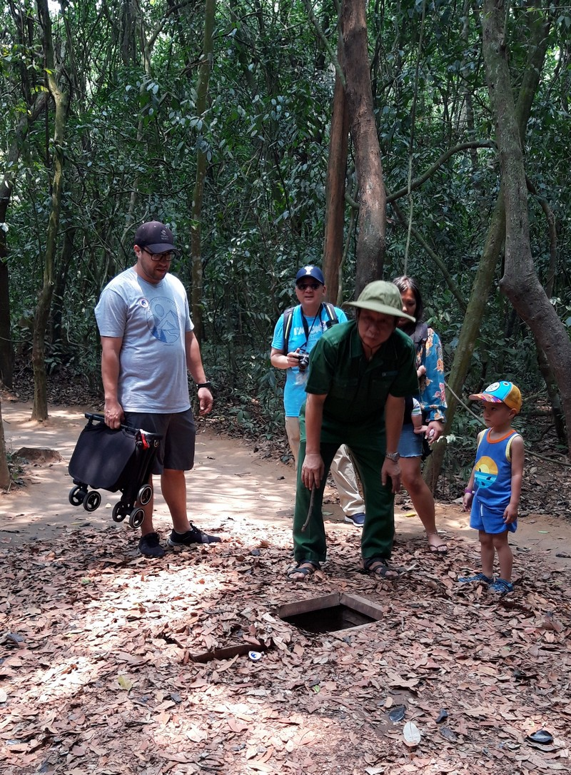 The Cu Chi tunnels are a major attraction in Ho Chi Minh and they are not that far from the city center. Therefore, you can easily reach them by local bus