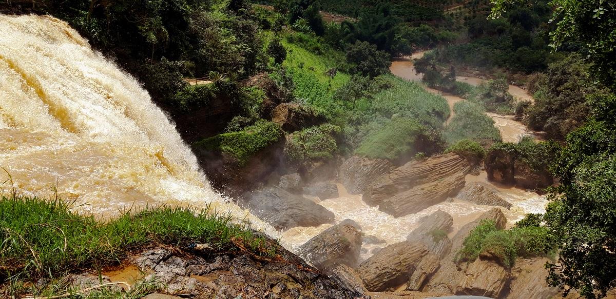 Exploring beautiful Dalat waterfalls