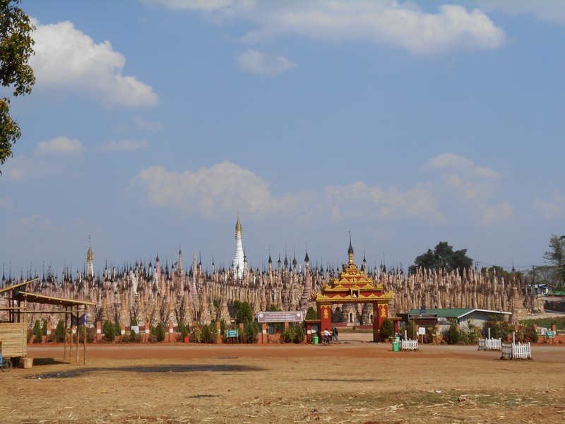 Discovering Kakku Pagodas, close to Inle Lake, Myanmar -  while you stay home 96